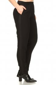 Dante 6 |  zwart | Pants with pleats Bowie   | Picture 5