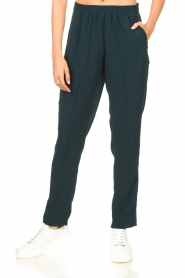 Dante 6 |  Pants with pleats Bowie | green  | Picture 4