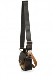Dante 6 |  Leather shoulder bag Noussa | black  | Picture 3