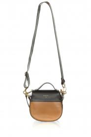 Dante 6 |  Leather shoulder bag Noussa | black  | Picture 4