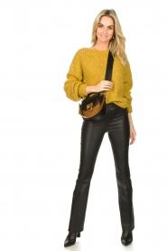 Dante 6 |  Leather shoulder bag Noussa | black  | Picture 2