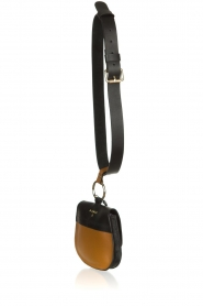 Dante 6 |  Leather waistpouch bag Bella | black  | Picture 5
