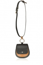 Dante 6 |  Leather waistpouch bag Bella | black  | Picture 3
