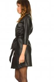 Aaiko    Faux leather midi dress Peloma    black    Picture 6