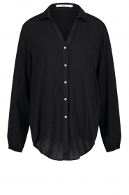 Aaiko |  Basic blouse Roza | black  | Picture 1