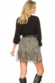 Aaiko    Basic blouse Roza   black    Picture 6