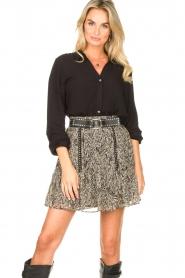 Aaiko    Basic blouse Roza   black    Picture 4