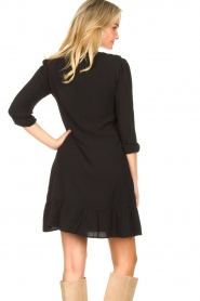 Aaiko    Dress with ruffles Talise   black    Picture 6