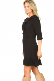 Aaiko    Dress with ruffles Talise   black    Picture 5