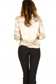 Aaiko |  Satin blouse Valera | pink  | Picture 5