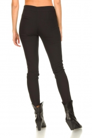 Aaiko |  Tights with zippers Tamara | black  | Picture 6