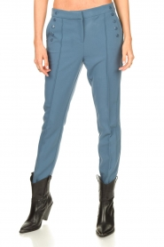Aaiko |  Trousers Sollo | blue  | Picture 4