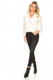 Fracomina    Blouse with laced details Venice   white    Picture 3