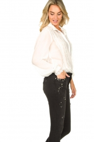 Fracomina    Blouse with laced details Venice   white    Picture 7