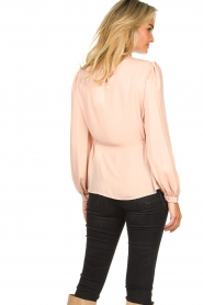 Fracomina |  Top with puff sleeves Misty | nude  | Picture 6