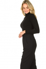 Fracomina |  Turtleneck sweater Ezra | black  | Picture 5