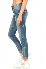 Fracomina |  Jeans with embroidered beads Mary | blue  | Picture 6
