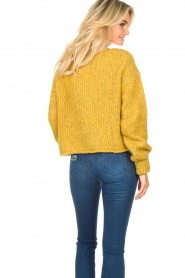 American Vintage   Knitted sweater Tudbury   yellow    Picture 6