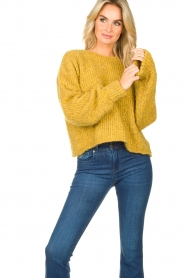 American Vintage   Knitted sweater Tudbury   yellow    Picture 2