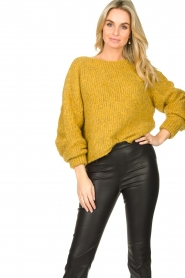 American Vintage | Knitted sweater Tudbury | yellow  | Picture 2