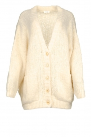 American Vintage |  Soft oversized button cardigan Tudbury | natural  | Picture 1