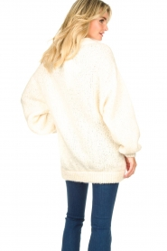 American Vintage |  Soft oversized button cardigan Tudbury | natural  | Picture 6