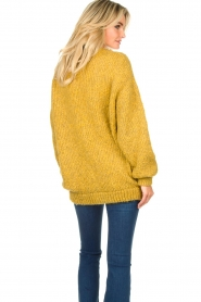 American Vintage |  Soft oversized button cardigan Tudbury | yellow  | Picture 6