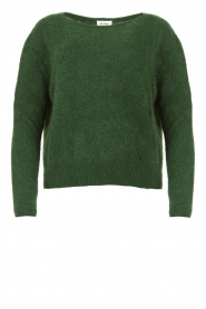 American Vintage |  Kid mohair sweater Zabido | green  | Picture 1