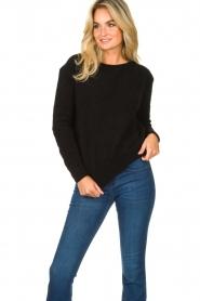 American Vintage |  Kid mohair sweater Zabido | black  | Picture 3
