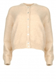 American Vintage |  Kid mohair cardigan Zabido | natural  | Picture 1