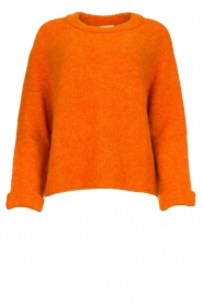 American Vintage |  Soft sweater East | orange  | Picture 1