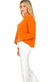 American Vintage |  Soft sweater East | orange  | Picture 4