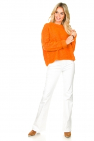 American Vintage |  Soft sweater East | orange  | Picture 3