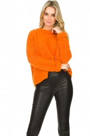 American Vintage |  Soft sweater East | orange  | Picture 2