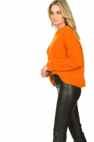 American Vintage |  Soft sweater East | orange  | Picture 5
