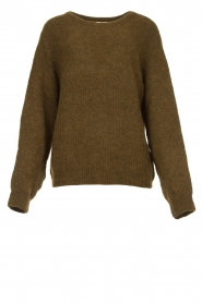 American Vintage |  Oversized sweater East | green