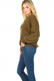 American Vintage |  Oversized sweater East | green  | Picture 6