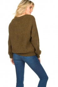 American Vintage |  Oversized sweater East | green  | Picture 7