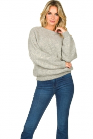 American Vintage | Oversized sweater East | grey  | Picture 5