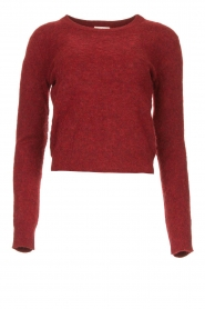 American Vintage |  Sweater Nuasky | red  | Picture 1
