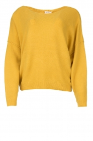 American Vintage |  Knitted sweater Damsville | yellow