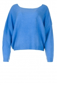 American Vintage |  Knitted sweater Damsville | blue  | Picture 1