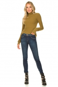 American Vintage |  Turtleneck sweater Damsville | green  | Picture 4