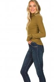 American Vintage |  Turtleneck sweater Damsville | green  | Picture 6
