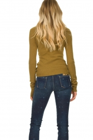 American Vintage |  Turtleneck sweater Damsville | green  | Picture 7
