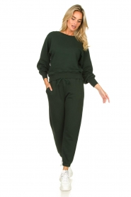 American Vintage :  Soft sweatpants Fobye | green - img2