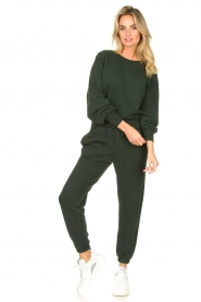 American Vintage :  Soft sweatpants Fobye | green - img3
