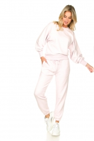 American Vintage |  Soft sweatpants Fobye | pink  | Picture 3