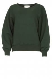 American Vintage |  Sweatshirt Fobye | green  | Picture 1