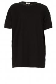 American Vintage    Oversized cotton T-shirt Sonoma   black    Picture 1